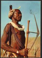 Swaziland Swazi Warrior, Used In 1956 - Swaziland