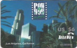 POW WOW TELEKEY LOS ANGELES CALIFORNIA - Altri