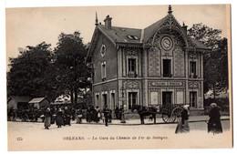 ORLEANS -- La Gare Du Chemin De Fer De Sologne  ( Très  Animée ,attelage ) .........à Saisir - Orleans