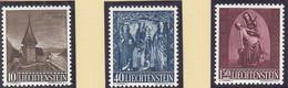 LIECHTENSTEIN  362-364, Postfrisch **, Weihnachten, 1957 - Ongebruikt