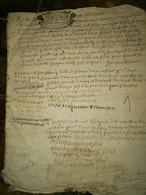 Généralité De Rouen 1717    14 Pages état Visible Sur Photos - Manuscripts
