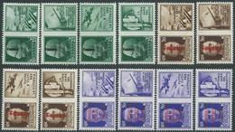 1944 RSI PROPAGANDA DI GUERRA 12 VALORI MNH ** - I36-3 - Kriegspropaganda