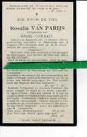 Rosalia Van Parijs Echt Basiel Coolsaet O Nazareth 1860 + Zwijnaarde 1921 - Images Religieuses