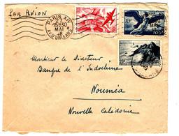 44667 - PAR AVION POUR LA NOUVELLE CALEDONIE - 1921-1960: Periodo Moderno