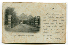 CPA  02 : SOISSONS   établissement Petit Minard     VOIR   DESCRIPTIF   §§§§§ - Soissons
