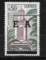 Algérie  N° 357  Surcharge EA  Typographique  D' Alger  1er Tirage  Oblitéré     B/T B  Voir Scans  Soldé ! ! ! - Used Stamps