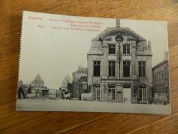 COURTRAI  + GUERRE 14/18 :AUBERGE AU PONT DE LA LYS AU COIN RUE ARC A MAIN - Kortrijk