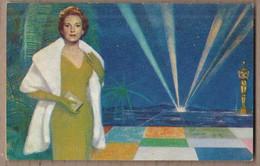 CPSM AVIATION - Publicité Pour Compagnie Aérienne TWA JETSTREAM Peinture De ZAMPARELLI De HOLLYWOOD OSCAR CINEMA - Andere