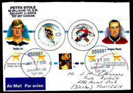 THÈME HOCKEY SUR GLACE - CANADA - BOBBY ORR / JACQUES PLANTE - POUR DJERBA - Hockey (Ice)