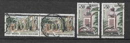 Algérie  N° 357 X 2 Et Paire Du N° 358  Surcharge EA Tlemcen Type 15.2   Oblitérés     B/T B  Voir Scans  Soldé ! ! ! - Used Stamps