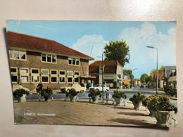 Nederland Netherlands Ermelo Station Stationsstraat Drogisterij Pharmacy Drugstore Old Car  12876 Post Card POSTCARD - Ermelo
