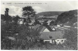YPORT 76 - Vue D'ensemble Prise Sur La Route De Vattelot - Yport