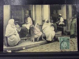121 .  TUNIS . CAFE MAURE . DOUX FARNIENTE . 1912 - Tunisie