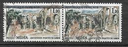 Algérie Paire Du N°  358 Surcharges EA  Tlemcen Type 15.2 Oblitérés B/TB   Voir Scans Soldé ! ! ! - Used Stamps