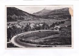 CPSM.  14 X 9  -  PASSY  -  La Grande Boucle Et La Vallée D'Arve - Passy