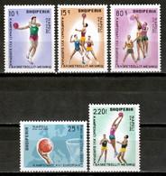 Albania 1969 / Basketball MNH Baloncesto / Cu17838  C5-29 - Basketball