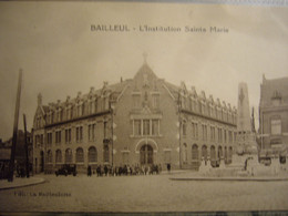 BAILLEUL     Institution Ste Marie    1938 - Other Municipalities