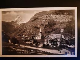 ZERMATT Cervina Matterhorn - Gelaufen -  Sehr Gutem Zustand - VS Valais
