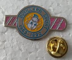 Pin's - DUVILLARD SPORT 1962-1992 - 30° Anniversaire- MEGEVE (74) - - Sin Clasificación