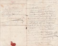 1794 - PRISON - LAGNIEU - Lettre Au Citoyen CONCIERGE De La Maison D'Arrêt D'AMBERIEUX - Renseignements Avec Réponse - Documenti Storici