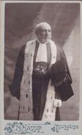 Photo Originale Ancienne :  C.D.V. : Portrait : Homme De Loi - Mann - Man : Photo M. MASSIP - Toulouse - Old (before 1900)