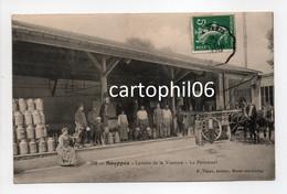 - CPA SOUPPES (77) - Laiterie De La Varenne 1908 - Le Personnel (belle Animation) - Edition Thion 782 - - Souppes Sur Loing