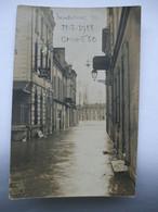 16032021-86? CHATELLERAULT ?CARTE PHOTO D'INONDATIONS DU 31-3-1913-CRUE 6m50 DEVANT L'HOTEL DU FAISAN - Fotografie