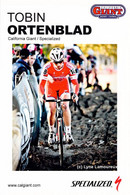 CYCLISME: CYCLISTE : TOBIN ORTENBLAD - Ciclismo