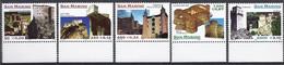 San Marino 1999 Rocche / Festungen Michel Nr. 1850 - 1854 - Unused Stamps
