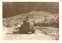 Photographie De Camion, Peugeot Q3A En Ariège, Cliché Vers 1955 Dans Les Montagnes - Automobile