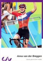 CYCLISME: CYCLISTE : ANNA VAN DER BREGGEN - Ciclismo