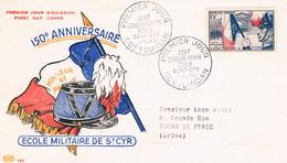 FRANCE F.D.C  N° 996.150 Ans Ecole St Cyr.P.J. 14.08.1954. Coetquidan - 1950-1959