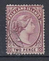 Falkland Islands 1898 Queen Victoria 2p Used (51462A) - Falklandinseln
