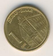 SERBIA 2007: 1 Dinar, KM 39 - Serbia