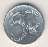 CESKA REPUBLIKA 1999: 50 Haleru, KM 3 - Czech Republic