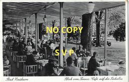 01086 BAD NAUHEIM - BLICK VOM TENNIS - CAFE AUF DIE PARKALLEE // DOS DIVISE // NON ECRITE - Bad Nauheim