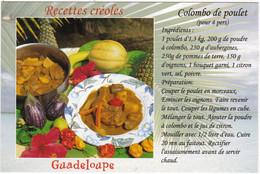 Recettes Créoles : GUADELOUPE , COLOMBO De POULET - Küchenrezepte