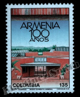 Colombie Colombia 1989 Yvert 942, Centenary Of Armenia - MNH - Colombia