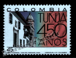 Colombie Colombia 1989 Yvert 943, 450th Ann. Tunja - MNH - Colombia