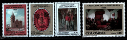 Colombie Colombia 1989 Yvert Airmail 805-08, 170th Ann. Of The Republic - MNH - Colombia