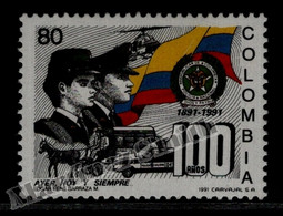 Colombie Colombia 1991 Yvert 974, Centenary National Police - MNH - Colombia