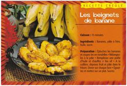 Recettes Créoles : GUADELOUPE ,  LES BEIGNETS DE BANANE - Küchenrezepte