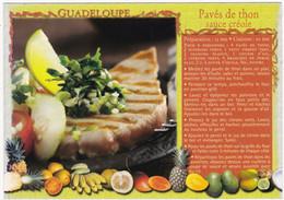 RECETTE  De GUADELOUPE : Pavés De Thon Sauce Créole - Küchenrezepte