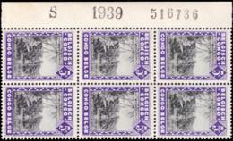 Congo 0197** Molindi Bloc De 6  Milésimé Et Numéroté - 1923-44: Nuovi