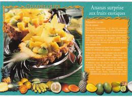 RECETTE  De GUADELOUPE : Ananas Surprise Aux Fruits Exotiques - Küchenrezepte