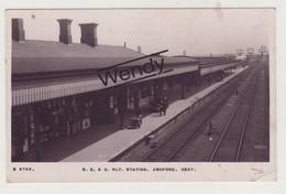 Ashford (RLY Station - Photo Originale) - Otros