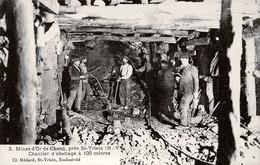 87. HAUTE-VIENNE - SAINT-YRIEIX. Mines D'Or Du Chéni Près La Meyze. Chantier D'abattage à 100 Mètres. - Saint Yrieix La Perche