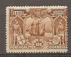 1898- Yv. N° 152  *  100r  Vasco De Gama  Cote  40 Euro  BE R 2 Scans - Unused Stamps