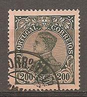 1910- Yv. N° 164  (o)  200r   Emmanuel II Cote  4,5 Euro  BE  2 Scans - Used Stamps