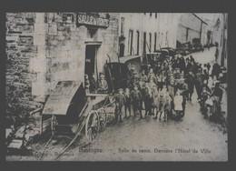 Bastogne - Salle De Vente Derrière L'hôtel De Ville - Reproduction Sur Papier Photo - Bastogne